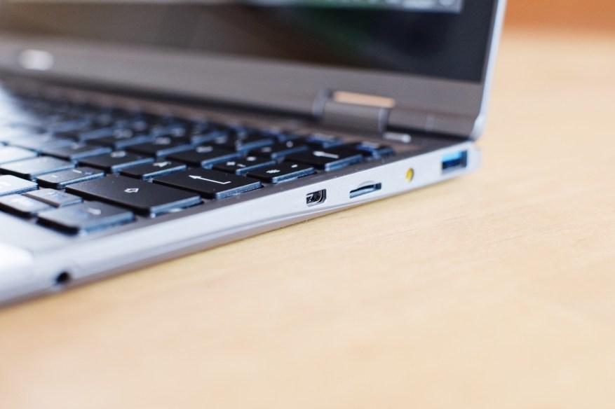 Micro-HDMI, Micro-SD-Slot, USB-Port