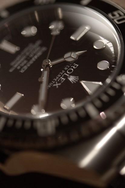 Rolex Sub 114060 close 4