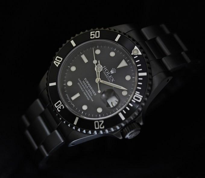 Rolex Sub schwarz 1klein