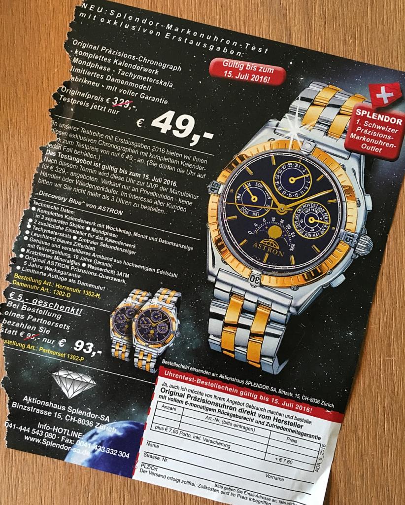 """sale retailer 52bd9 bee12 Der Härte-Test: """"Discovery Blue"""" von Astron (Sie wissen ..."""