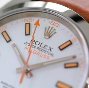 Rolex Milgauss 116400 weiß 3