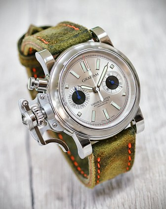 Graham Chronofighter weiß 4