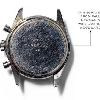 Rolex Daytona Paul Newman Referenz 6239 mit Exotic Dial (Foto: Wall Street Journal)