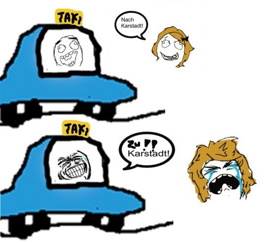 #Kalauer #Taxi #Taxifahrer