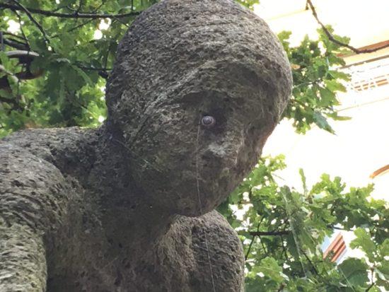 """So ungefähr sah mein Auge noch Wochen später aus. (Beispielsbild, aufgenommen in der """"Alten Bürger"""" in Bremerhaven)"""