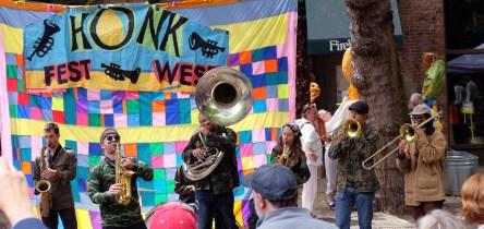 Da waren wir zufällig auch: Das Honk Fest in Seattle. ©HerrundFrauBayer