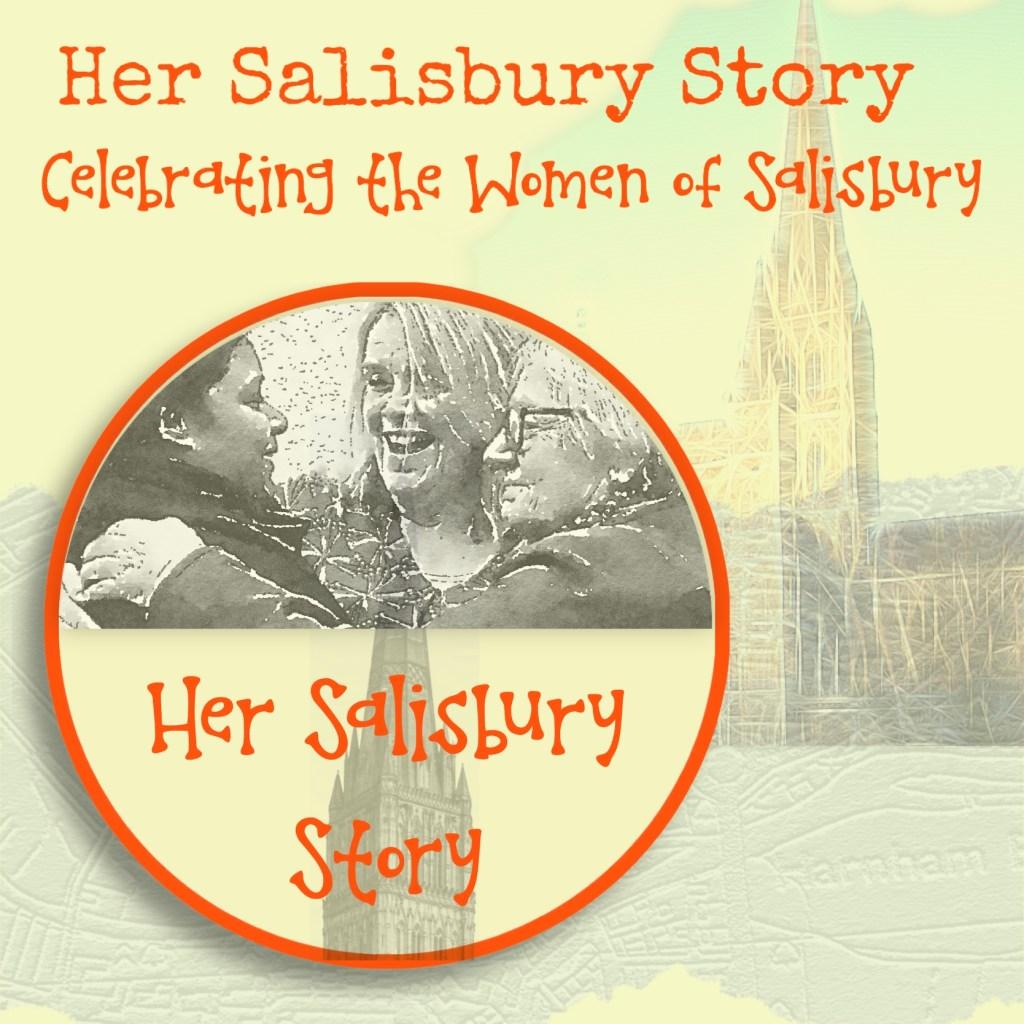 Her Salisbury Story logo and background