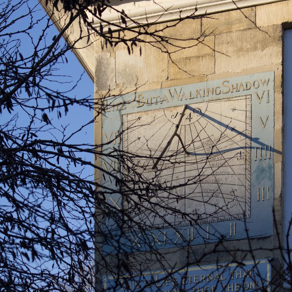 Malmesbury House sundial