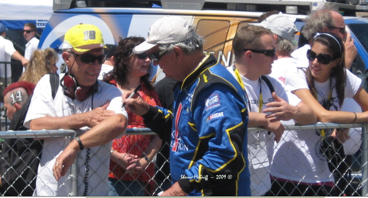 Signing Autographs at Infineon