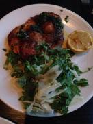Pollo al mattone with salsa verde, arugula and lemon | Cento