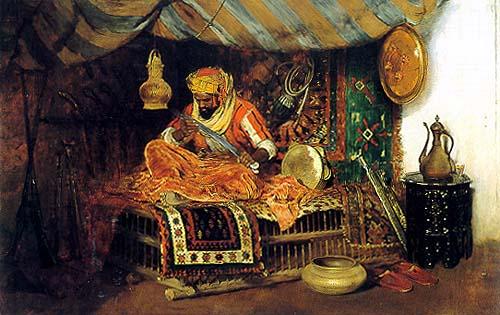 William Merritt Chase - The Moorish Warrior - 1878 (Brooklyn Museum)