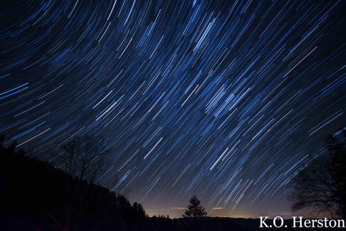 smoky mountain star trails