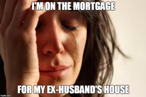 mortgage divorce