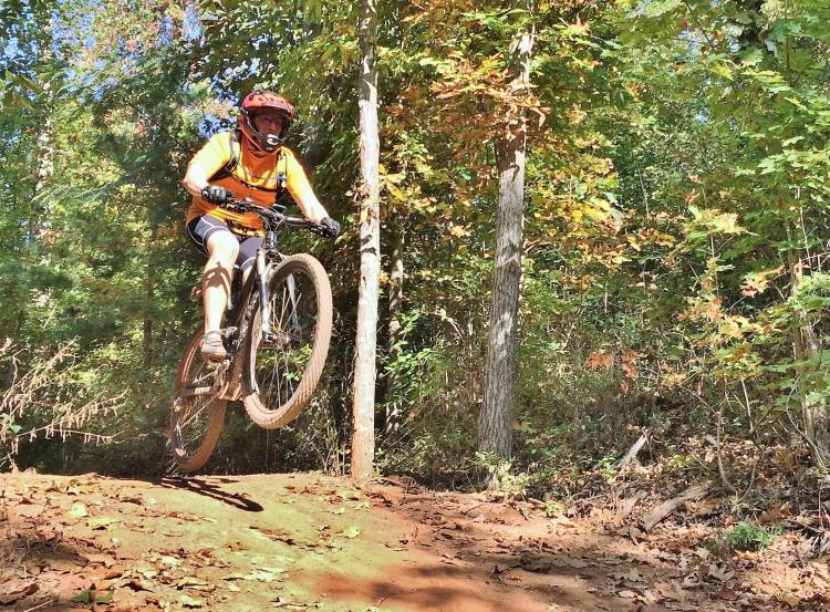Herston mountain biking