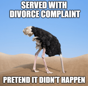 Tennessee divorce default
