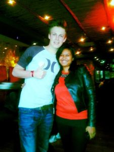 My Captured Moment with Caspar Lee