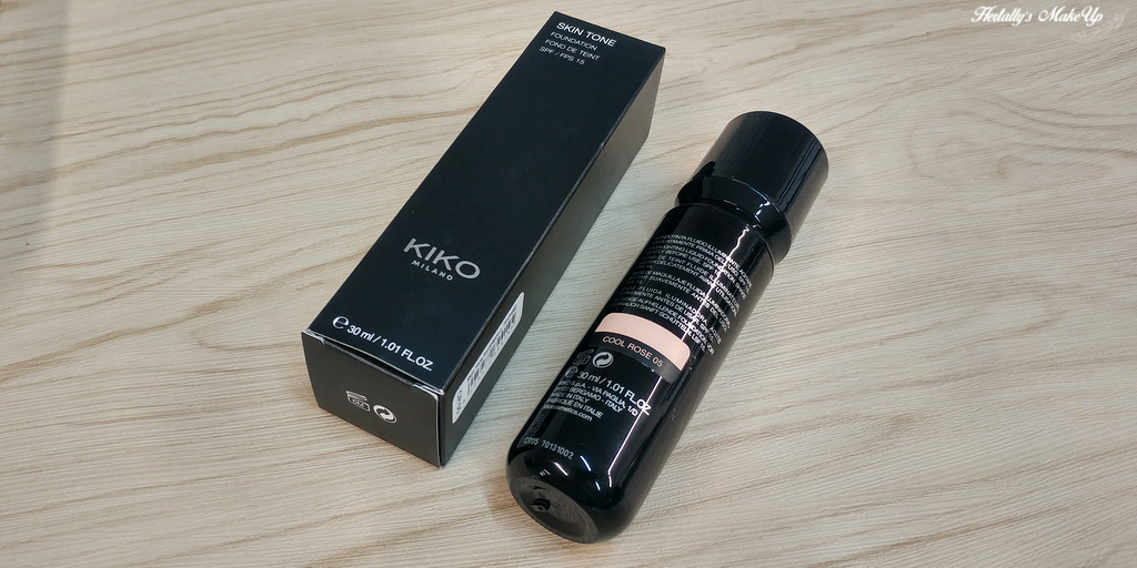 KIKO milano skin tone foundation CR05