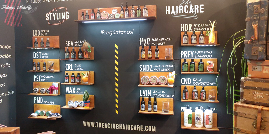Cosmobeauty BCN 2018 the a club haircare