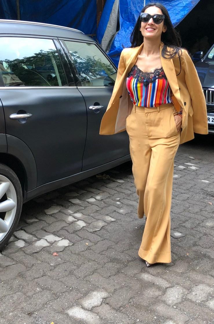 Double Breast Suit - Rupika Chopra