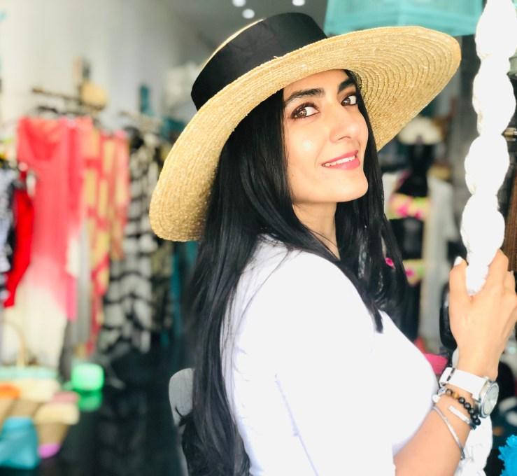 Women's Boaters Hat - Rupika Chopra