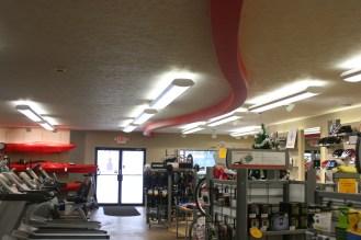 Inside of McLains