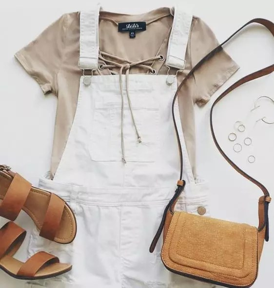summer outfits overalls hertrack.com