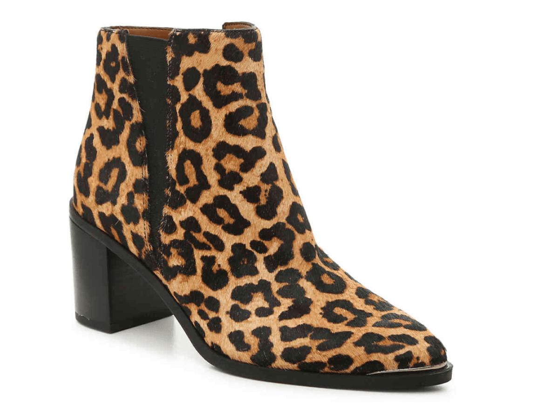 Leopard Bootie.