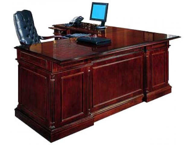 Executive Lshaped Office Desk L Rtn Kes058, Office Desks