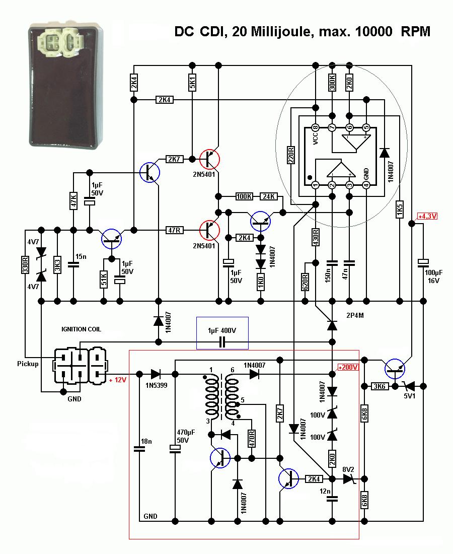 wiring diagram lampu rem sepeda motor