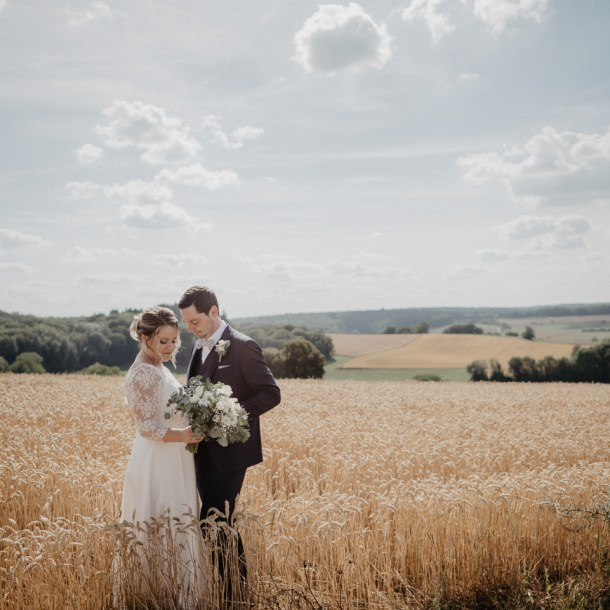 mariage champêtre à la ferme du Lion d'Or