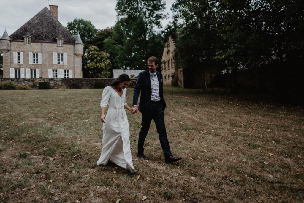 un mariage à la maison