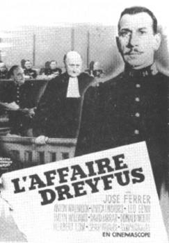L'affaire Dreyfus (film, 1958) : l'affaire, dreyfus, (film,, 1958), Encyclopédie, Cinéma, Histoire