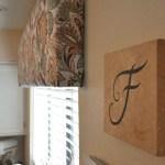 Easy Diy Box Valance Her View From Home