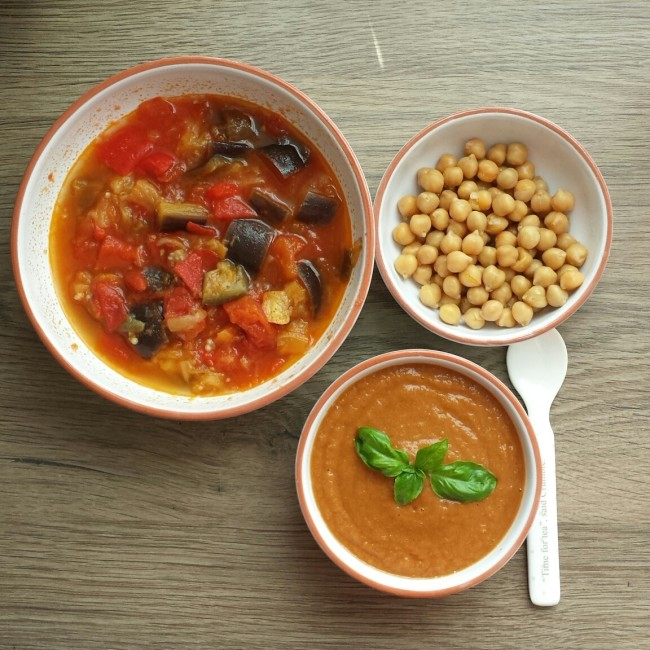 Homemade Baby Food – Chickpea Puree – Her View From Home