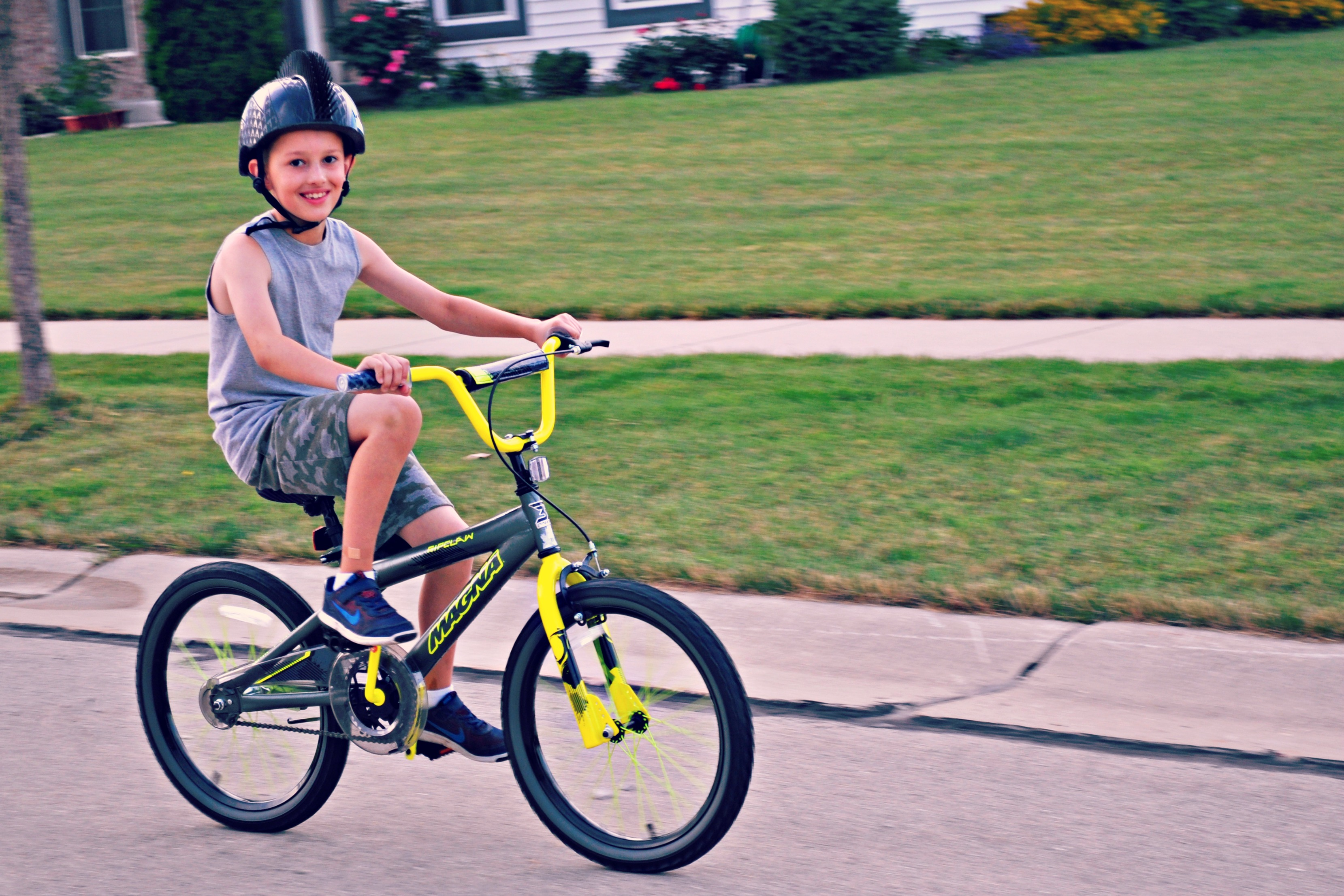 I Make My Kids Wear Helmets Every Single Time They Ride