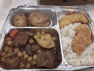 Nog even eten in de kibboets