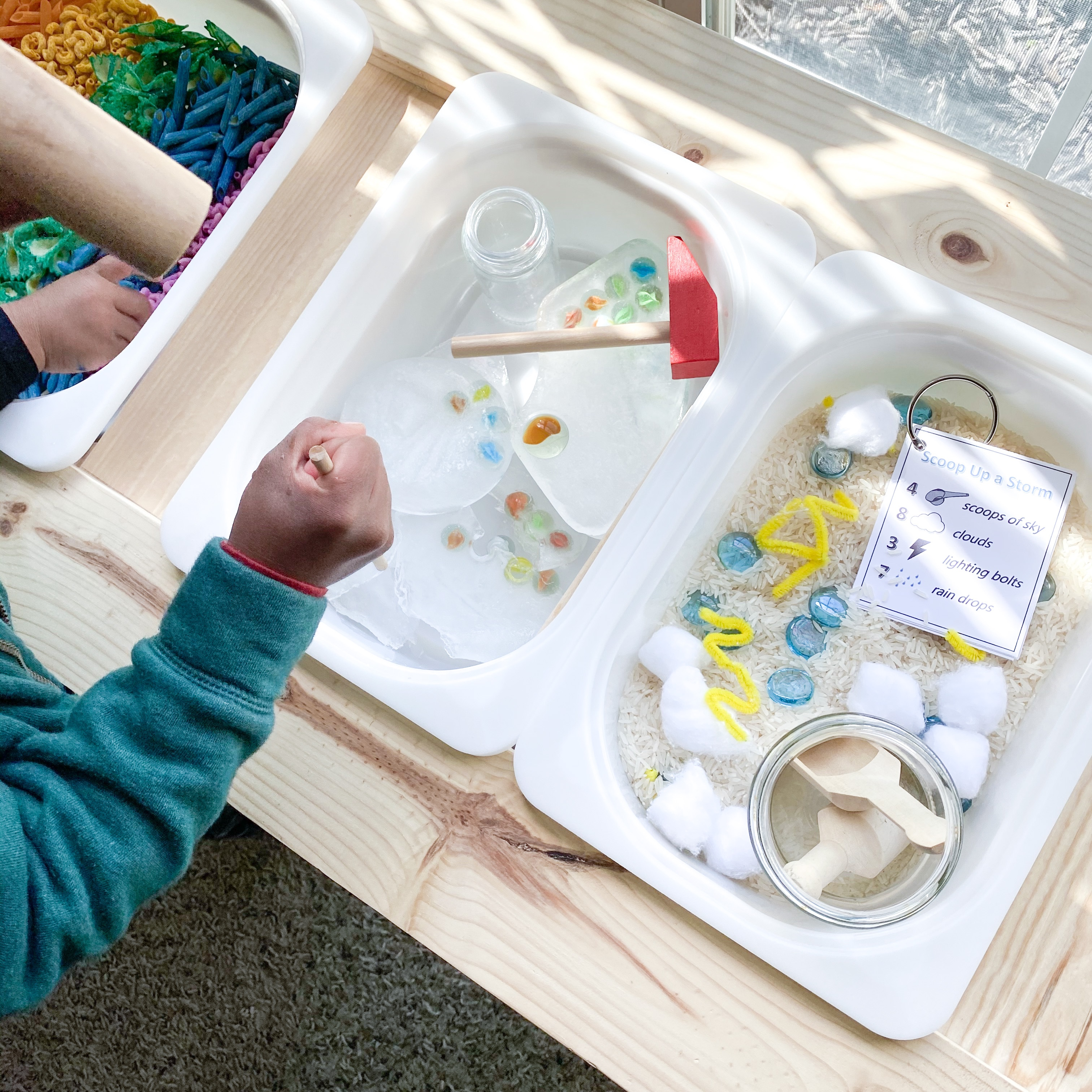 Montessori Inspired Weather Theme Learning Activities