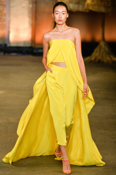 NYFW Christian Siriano Spring 2014 Midwest Perspective