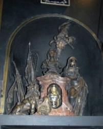 Doppelherzurne Kaiser Karls VII.  und seiner Gattin Maria Amalie in der Gnadenkapelle von Altötting  (Foto: A. Dietz)