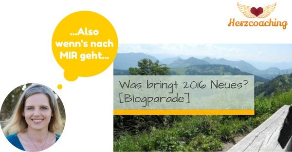 Blogparade was bringt 2016?
