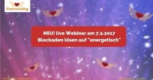 Webinar Blockaden lösen auf energetisch