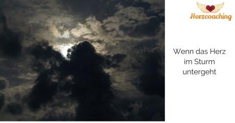 Achtsamkeit - wenn das Herz im Sturm untergeht
