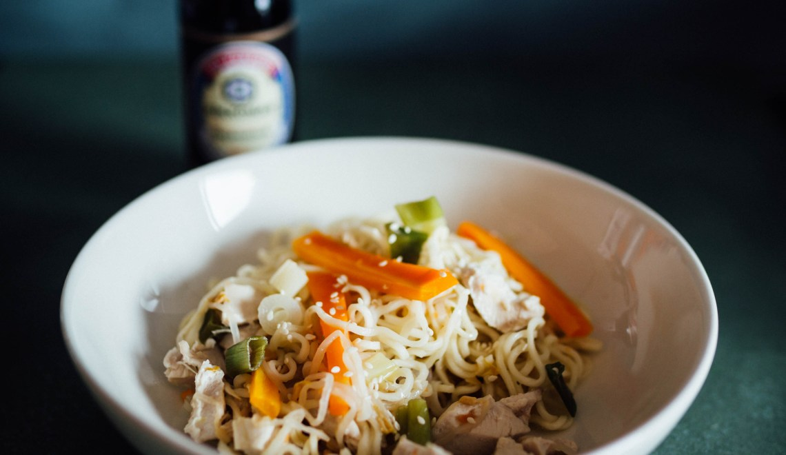 Mie-Nudelsuppe aus dem Thermomix®