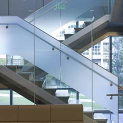 Custom-Glass-Stair-Rail-Storefront-UW-Bio-Genome-Lab
