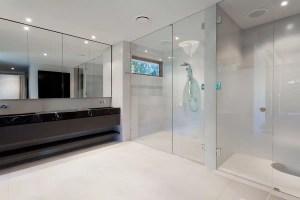 glass shower enclosure door clean seattle bellevue