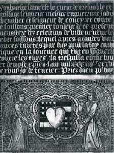 Kardiotaph von Enguerrand VII. im Musée Municipial de Soissons