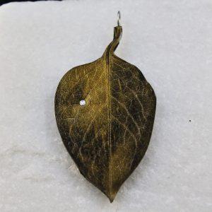 Hartriegel Blatt gold