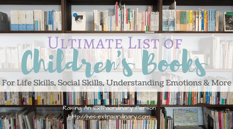 Ultimate List Of Children's Books For Life Skills