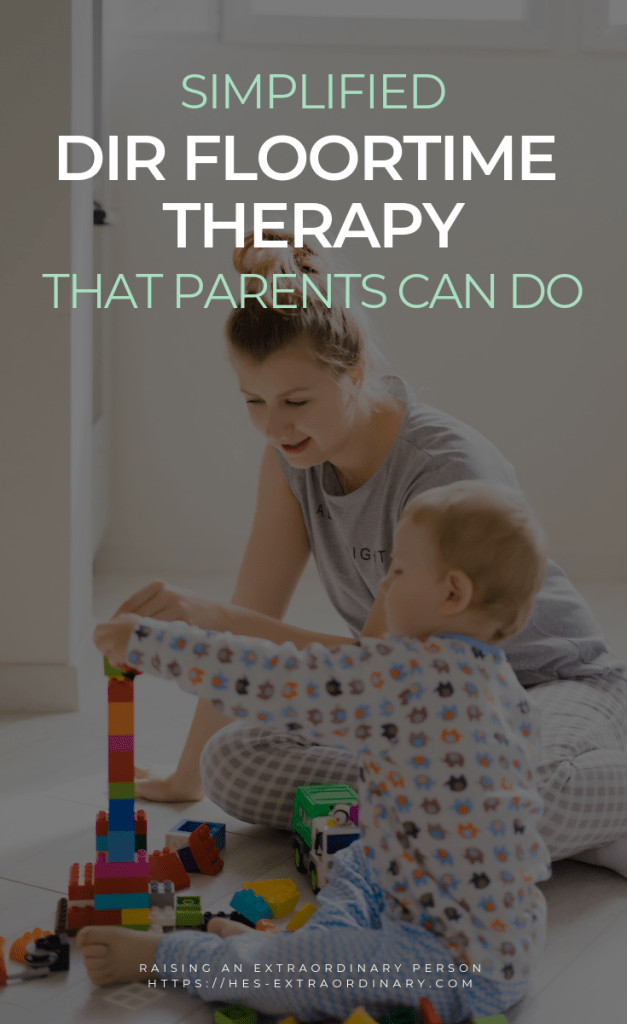 Simplified DIR Floortime Therapy That Parents Can Do - Easy Play Therapy Technique - #Autism #ADHDKids #PlayTherapy #SocialSkills #CommunicationSkills