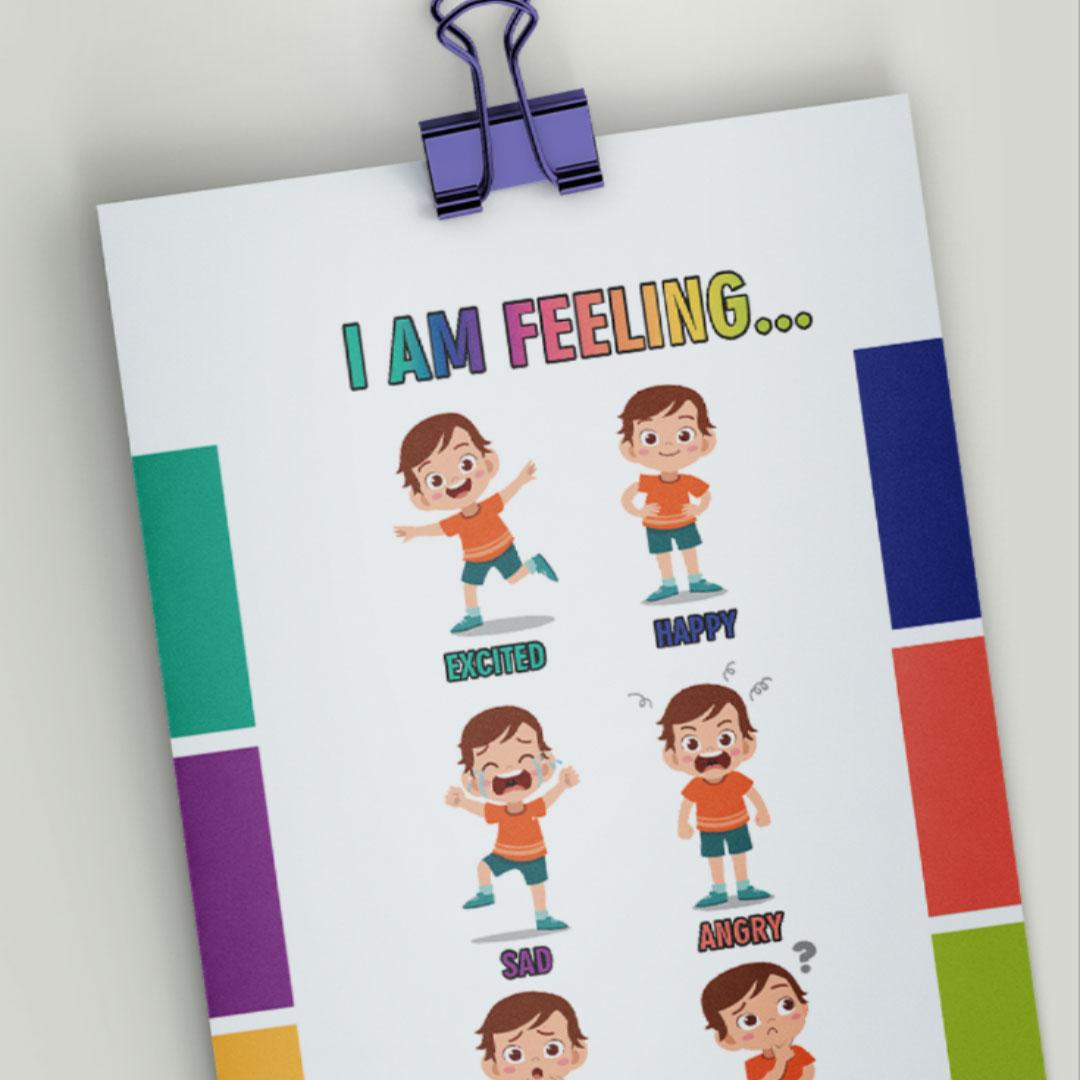 Feelings Chart For Kids